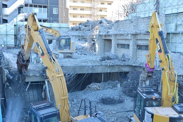 鉄筋コンクリート造解体
